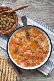 this mediterranean pinto beans u0026 rice soup is the perfect vegan