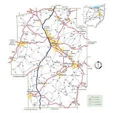 Ohio City Map Maps U0026 Resources For Tuscarawas County Ohio