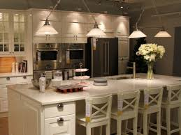 Kitchen Island Bar Height Kitchen Kitchen Bar Stools And 37 Cream Leather Bar Ss Kitchen
