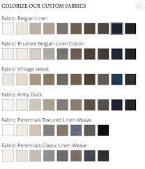 choosing restoration hardware fabric maureen stevens