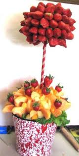 how to make fruit arrangements simply delectable catering fruit bouquets these wonderfully