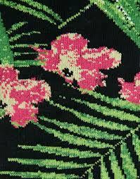 Tropical Design Asos Socks With Tropical Design In Black For Men Lyst