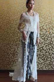 wedding dress kebaya wedding kebaya dress offwhite beautiful and amazing kebaya modern