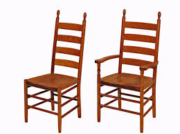 Shaker Dining Room Furniture Shaker Dining Room Chairs With Well Solid Oak Cherry Furniture