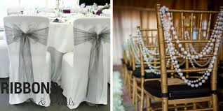 chair ribbons ideas for decorating your wedding chairs be event hire