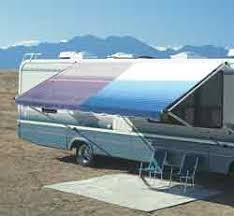 Travel Trailer Awning Replacement Fabric Carefree Rv Awning Replacement Fabric 15ft Ocean Blue