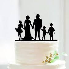 family wedding cake toppers engagement wedding cake topper children family