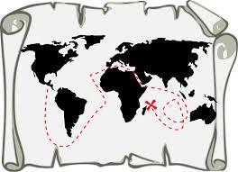 file treasure map black svg wikimedia commons