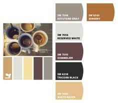 tips for choosing paint colors in the library using