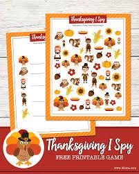 thanksgiving pics free thanksgiving i spy print lil u0027 luna