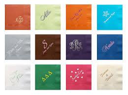 custom cocktail napkins