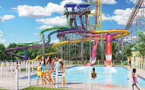 6 Flags Water Park Nj Every New Ride Coming To Amusement Parks In 2017 Travel Leisure