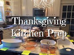 thanksgiving kitchen prep how to