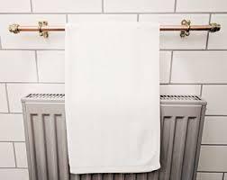 bathroom towel bar towel racks rods etsy