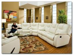 leather sofa reclining sectional brown leather sofa and recliner