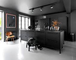 black and kitchen ideas kitchen design trends 2016 2017 interiorzine