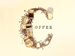 wallpaper coffee design coffee doodle by ryan putnam dribbble
