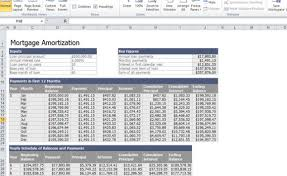 Excel Payment Calculator Template Home Mortgage Calculator Template For Excel