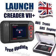 launch x431 creader vii 7 crp123 car scanner diy code reader abs launch x431 creader vii 7 crp123 car scanner diy code reader abs srs uk stock