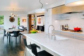 Contemporary Kitchen Faucet Contemporary Kitchen With Breakfast Bar By Lane Williams Zillow