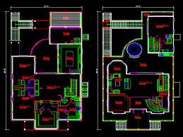 download free autocad house plans zijiapin