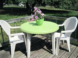 Plastic Feet For Outdoor Furniture by How To Clean Green Plastic Patio Furniture Wherearethebonbons Com