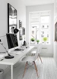 Black Home Office Furniture Stunning White Office Decorating Ideas Furniture White