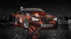 orange subaru wrx subaru wrx sti jdm anime car 2013 el tony