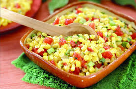 cuisine salade recette salade de crudité maïs tomate œufs recette com