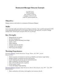 Computer Skills Resume Example by Waitress Example Resume Free Resume Example And Writing Download
