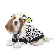 luv gear zebra halloween costume for dogs drsfostersmith com