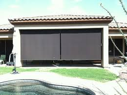 Wind Screens For Patios by Roll Down Patio Shades Aaa Sun Control