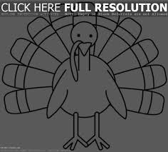 printable turkey coloring pages for free u2013 festival collections