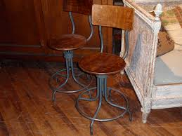 Vintage Industrial Bar Stool Industrial Swivel Bar Stools Hudson Goods Blog