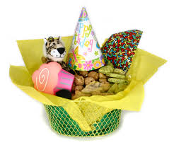 Healthy Gift Baskets Small Dog Gift Basket Healthy Hound Bakery Treats That Are