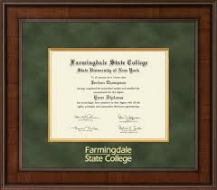college diploma frames state of new york farmingdale state college diploma