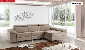 fabric sectional sofa uve fabric sectional sofa in beige free shipping get furniture