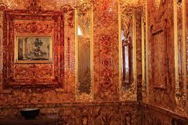 chambre ambre chambre ambre à pushkin image stock image du russia 32530363