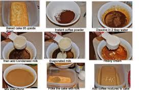 tres leches pastel con sabor a café coffee flavored tres leches