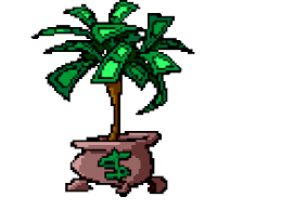 money tree grows on icon icons emoticon emoticons animated