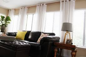 Hanging Curtains High And Wide Designs How High Curtain Rod Gopelling Net