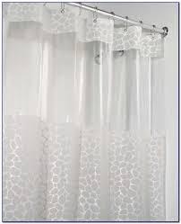 standard shower curtain size length curtain home design ideas