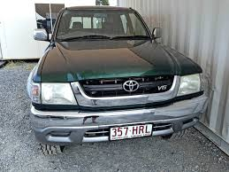 cars toyota ute toyota hilux sr5 2004 green for sale 11 490 used vehicle sales