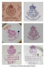 antique bone china answers to royal worcester backstamp question