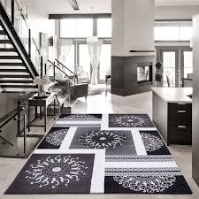 Black Modern Rugs Black And White Modern Rugs Safavieh Handmade Soho Modern