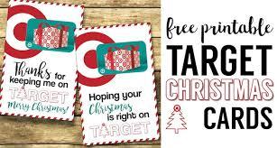 printable christmas targets target christmas gift card holders teachers friends neighbors