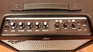 fender mustang ii v2 fender mustang ii v 2 40 watt 1x12 guitar combo amp with reverb