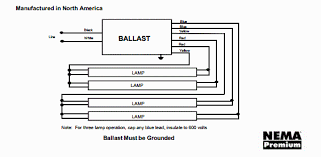 t8 4 lamp ballast wiring diagram t8 wiring diagrams collection