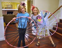 Hoola Hoop Rug How To Make A Giant Dream Catcher Club Chica Circle Where