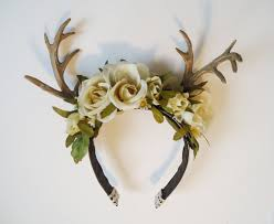 Deer Antlers Halloween Costume Hocus Pocus Halloween Party Animals Costume Deer Costume